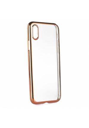 Θήκη για Apple Iphone X Tpu Electro Jelly Rose Gold