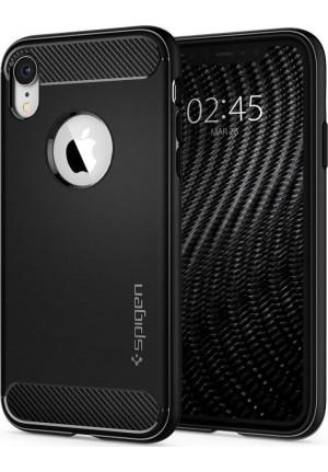 Θήκη για Apple Iphone XR Spigen Rugged Armor Matte Black (064CS24871)