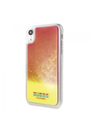Θήκη για Apple Iphone XR FacePlate Guess Pink GUHCI61GLCPI