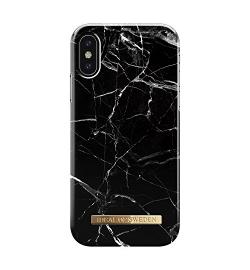 Θήκη για Apple Iphone X / XS Ideal Fashion Black Marble IDFCA16-IXS-21