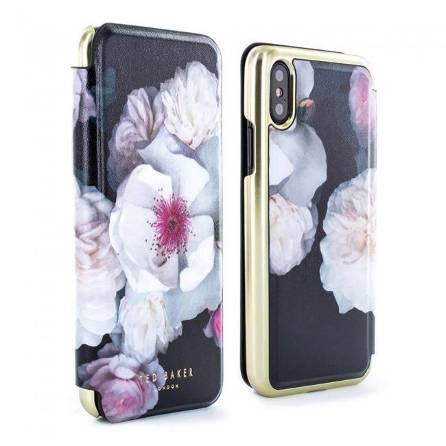Θήκη για Apple Iphone X / XS Ted Baker Folio Nabalise Chelsea Black (886075053079)