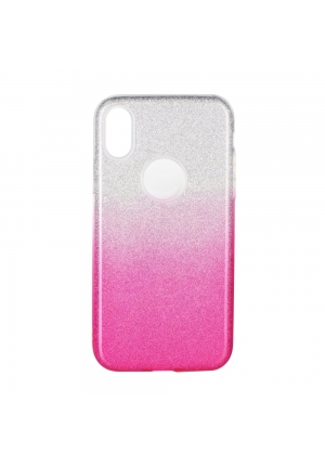 Θήκη για Apple Iphone X Forcell Shining Clear Pink