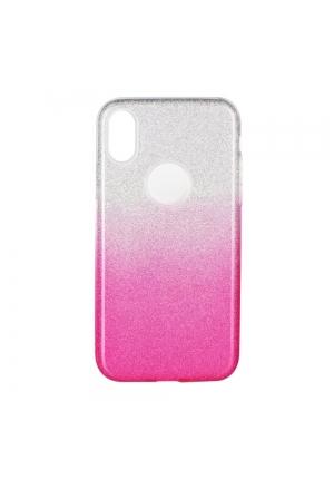 Θήκη για Apple Iphone X Forcell Shining Clear Pink