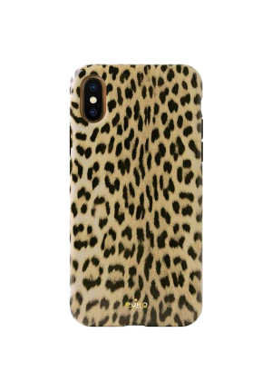 Θήκη για Apple Iphone X / XS Puro Glam Leopard IPCXCLEO1BLK