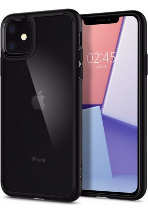 Θήκη για Apple Iphone 11 Spigen Ultra Hybrid Matte Black (076CS27186)