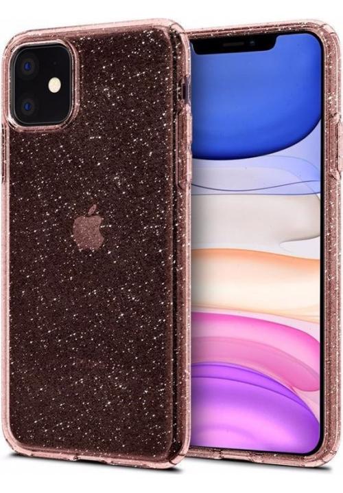 Θήκη για Apple Iphone 11 Spigen Liquid Crystal Glitter Rose (076CS27182)
