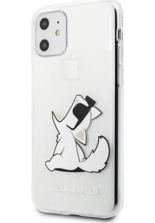 Θήκη για Apple Iphone 11 Karl Lagerfeld Clear KLHCN61CFNRC