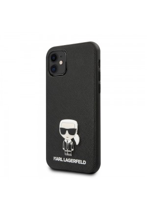 Θήκη για Apple Iphone 11 Karl Lagerfeld Black (KLHCN61IKFBMBK)