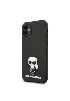 Θήκη για Apple Iphone 11 Karl Lagerfeld Black (KLHCN61IKFBMBK)