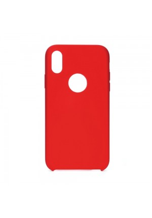 ΘΗΚΗ ΓΙΑ APPLE IPHONE 11 2019 FORCELL SILICONE RED