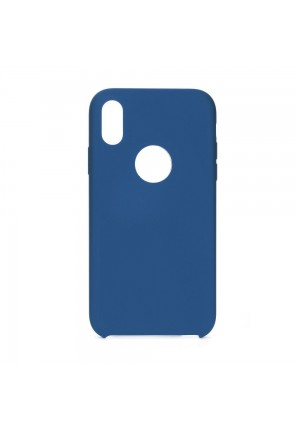 ΘΗΚΗ ΓΙΑ APPLE IPHONE 11 2019 FORCELL SILICONE DARK BLUE