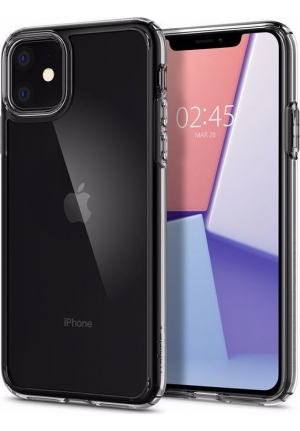 Θήκη για Apple Iphone 11 Pro Spigen Crystal Hybrid Clear (077CS27114)