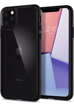 Θήκη για Apple Iphone 11 Pro Spigen Ultra Hybrid Matte Black (077CS27234)