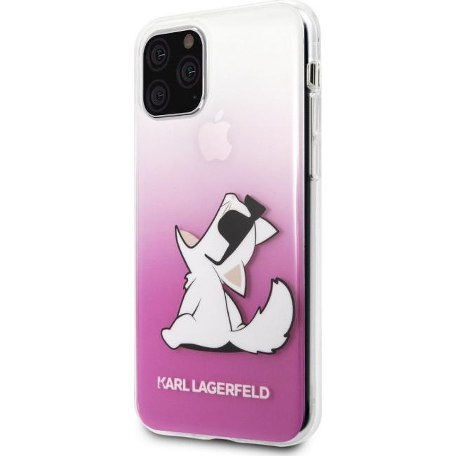 Θήκη για Apple Iphone 11 Pro Karl Lagerfeld Pink KLHCN58CFNRCPI