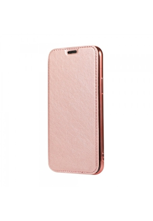 Θήκη για Apple Iphone 11 Pro Forcell Electro Book Rose Gold