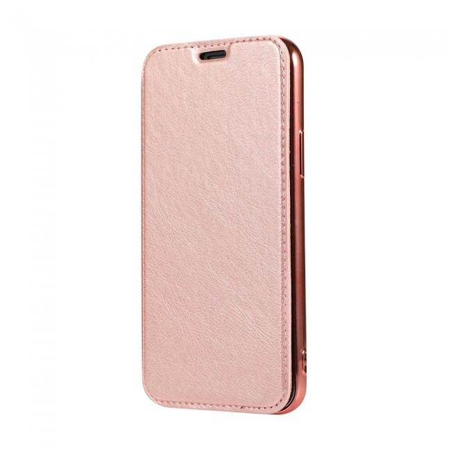Θήκη για Apple Iphone 11 Pro Forcell Electro Book Rose Gold