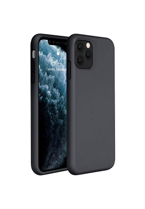 Θήκη για Apple Iphone 11 Pro Tpu Liquid Silicone Black