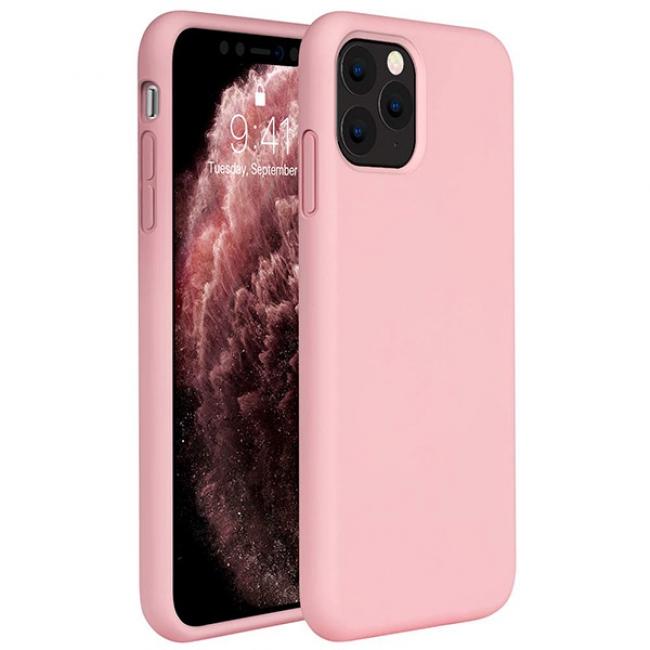 Θήκη για Apple Iphone 11 Pro Tpu Liquid Silicone Pink