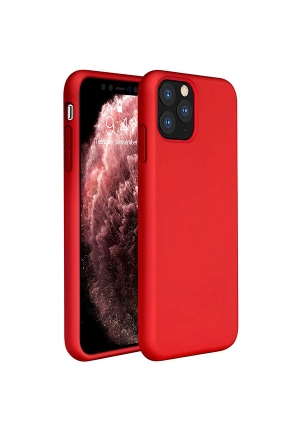 Θήκη για Apple Iphone 11 Pro Tpu Liquid Silicone Red