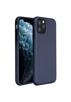 Θήκη για Apple Iphone 11 Pro Tpu Liquid Silicone Midnight Blue