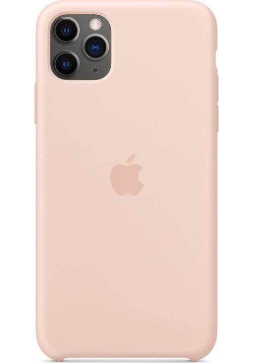 Θήκη για Apple Iphone 11 Pro Max Silicone Case Pink Sand Original