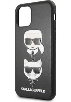 Θήκη για Apple Iphone 11 Pro Max Karl Lagerfeld Faceplate Black KLHCN65KICKC
