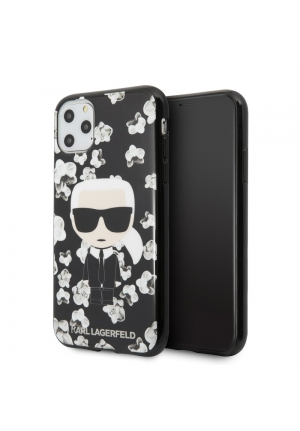 Θήκη για Apple Iphone 11 Pro Max Karl Lagerfeld Black KLHCN65FLFBBK