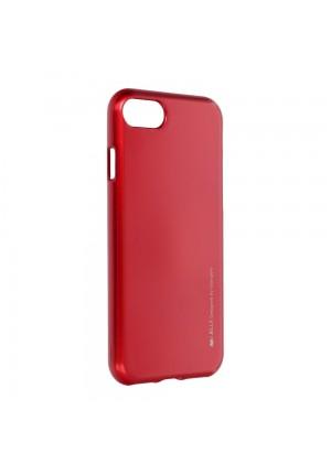 ΘΗΚΗ ΓΙΑ APPLE IPHONE 7/8/SE 2020 JELLY MERCURY RED