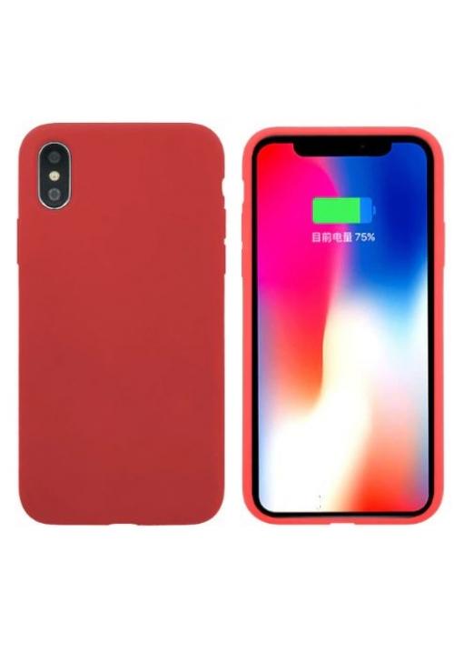 Θήκη για Apple Iphone Xs Max Tpu Liquid Silicone Red