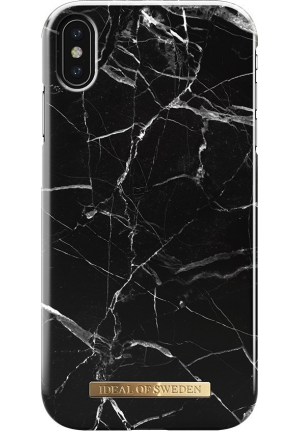 Θήκη για Apple Iphone XS Max Ideal Fashion Black Marble IDFC-I1865-21