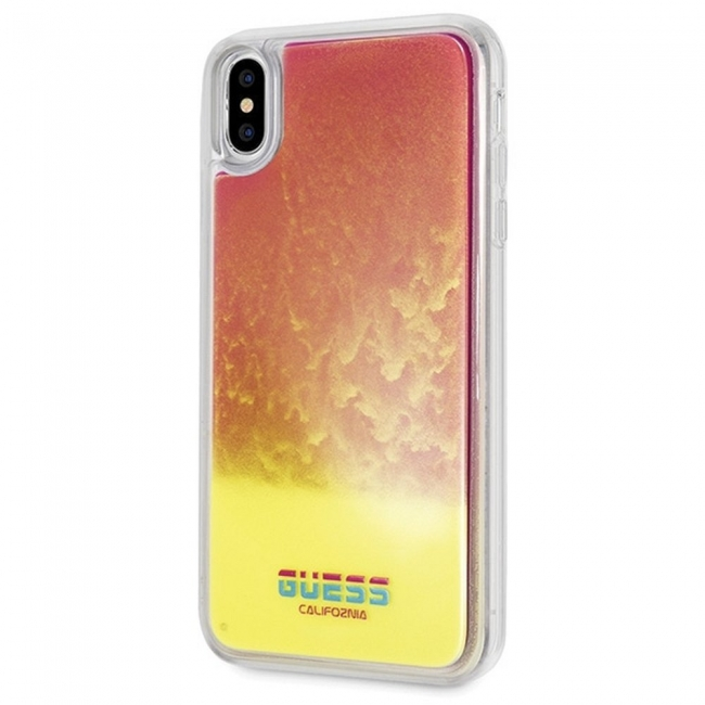 Θήκη για Apple Iphone XS Max FacePlate Guess Pink (GUHCI65GLCPI)