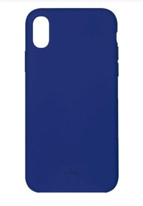 Θήκη για Apple Iphone Xs Max Puro Silicone Dark Blue IPCX65ICONDKBLUE