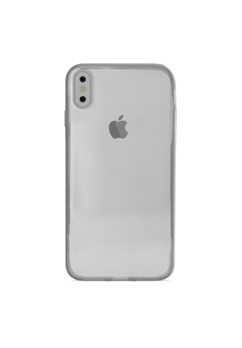 Θήκη για Apple Iphone Xs Max Puro Silicone Nude Clear IPCX6503NUDETR