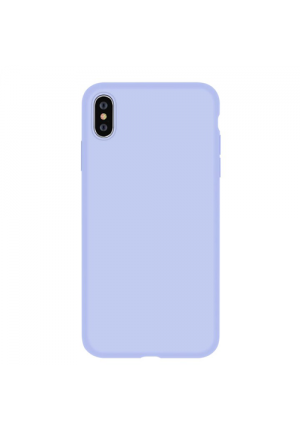 Θήκη για Apple Iphone Xs Max Nature Series Silicone Purple