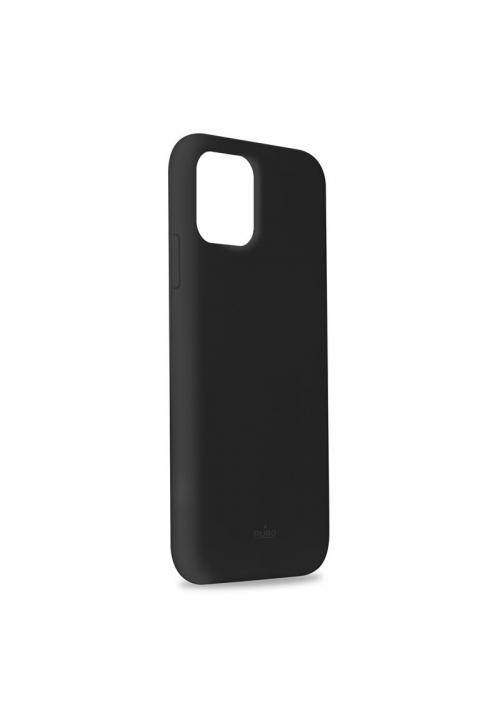 Θήκη για Apple Iphone 11 Pro Max Puro Silicone Black IPCX6519ICONBLK