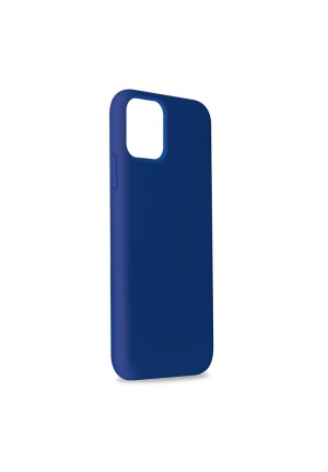 Θήκη για Apple Iphone 11 Pro Max Puro Silicone Dark Blue IPCX6519ICONDKBL