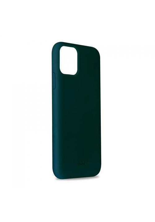 Θήκη για Apple Iphone 11 Pro Max Puro Silicone Dark Green IPCX6519ICONDKGRN