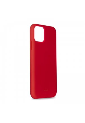 Θήκη για Apple Iphone 11 Pro Max Puro Silicone Red IPCX6519ICONRED