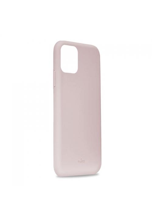 Θήκη για Apple Iphone 11 Pro Max Puro Silicone Rose IPCX6519ICONROSE