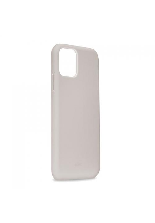Θήκη για Apple Iphone 11 Pro Max Puro Silicone Light Grey IPCX6519ICONLGREY