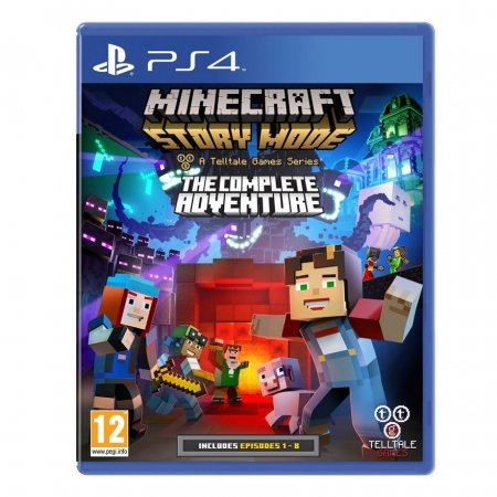 PS4 MINECRAFT STORY MODE THE CO...