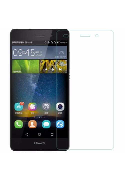Tempered Glass 9h for Huawei P8 Lite 2017 / P9 Lite 2017 Blue Star
