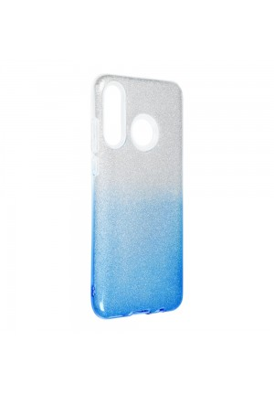 ΘΗΚΗ ΓΙΑ HUAWEI P30 LITE FORCELL SHINING CLEAR/BLUE