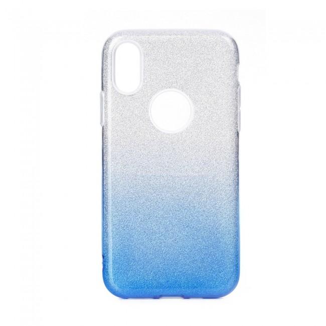Θήκη για Huawei P40 Lite E Forcell Shining Clear Blue