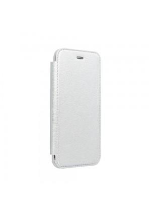 Θήκη για Huawei P30 Lite Forcell Electro Book Silver