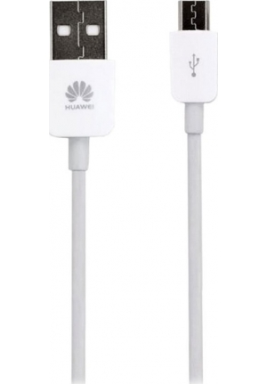 Huawei USB 2.0 to micro USB Cable Λευκό 1.2m (C02450768A) (Bulk)