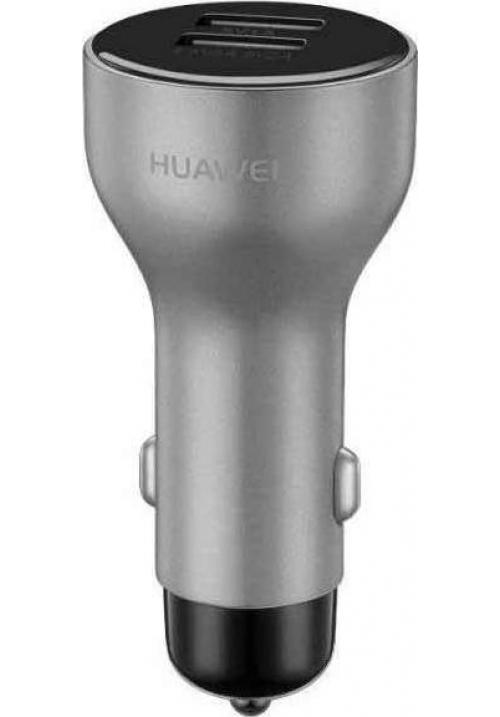 Φορτιστής Αυτοκινήτου Huawei AP38 + Type C Silver Original Blister