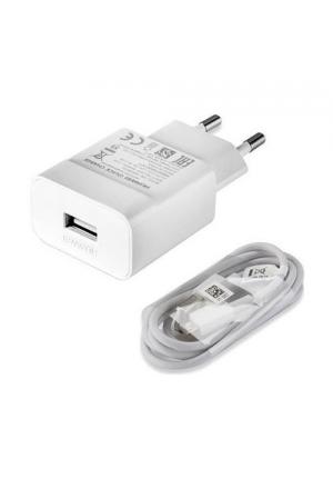 Huawei micro USB Cable & Wall Adapter Λευκό 2A (HW-059200EHQ) Bulk