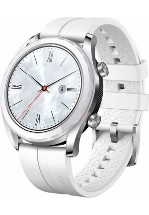 HUAWEI WATCH GT ELEGANT SILVER WHITE (6901443292264)