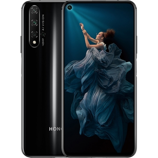 HONOR 20 128GB DUAL BLACK EU